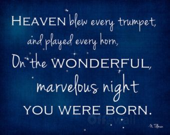 1st Birthday On The Night You Were Born Book Theme Framed