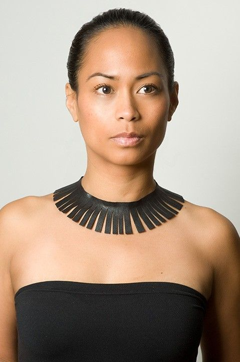 I don't usually go for chokers; but I love this. I'd rock it. #fashion #accessories #foundobjects