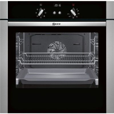 Best NEFF B44S53N5GB Stainless Steel Built-in Single Electric Oven at Atlantic Electrics #NeffElectricsOven #oven #kitchenappliances #NeffUK
