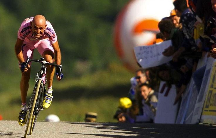 MARCO PANTANI     Giro d`Italia 1999--> Unbelieveble stage victory just before the following doping arrest.
