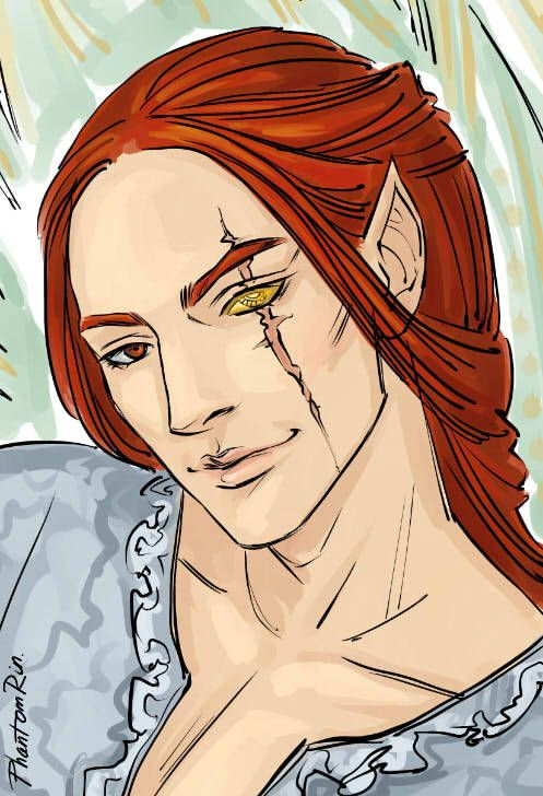 Not Long Ago I Ve Posted Fanarts Of Tamlin And Personagens De
