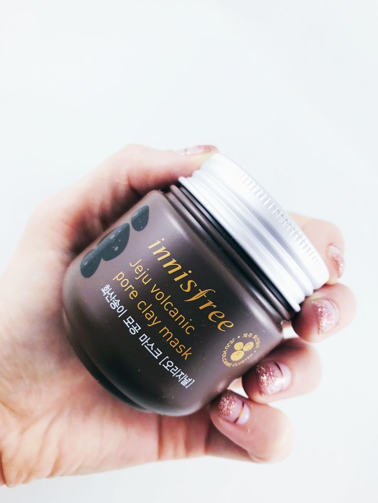 Innisfree Jeju Volcanic Pore Clay Mask can be used