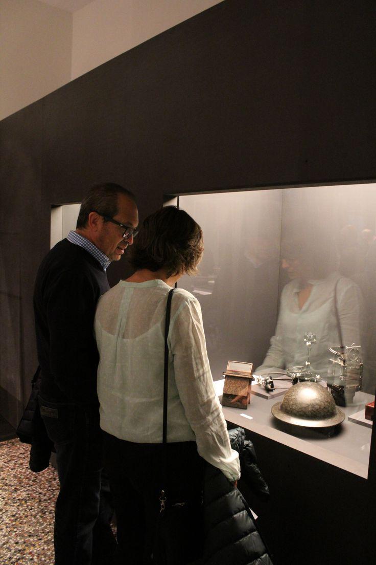 Inauguración de la exposición Baquelitas MNAD