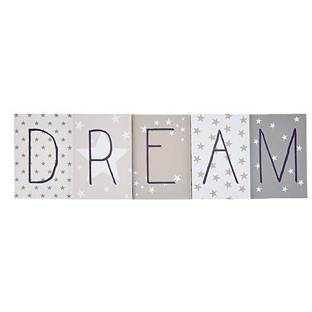 Home & You Canvas Art Dream Set 5 Piece
