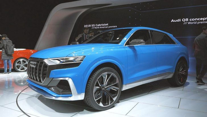 2018 Audi Q8 Concept HD Image