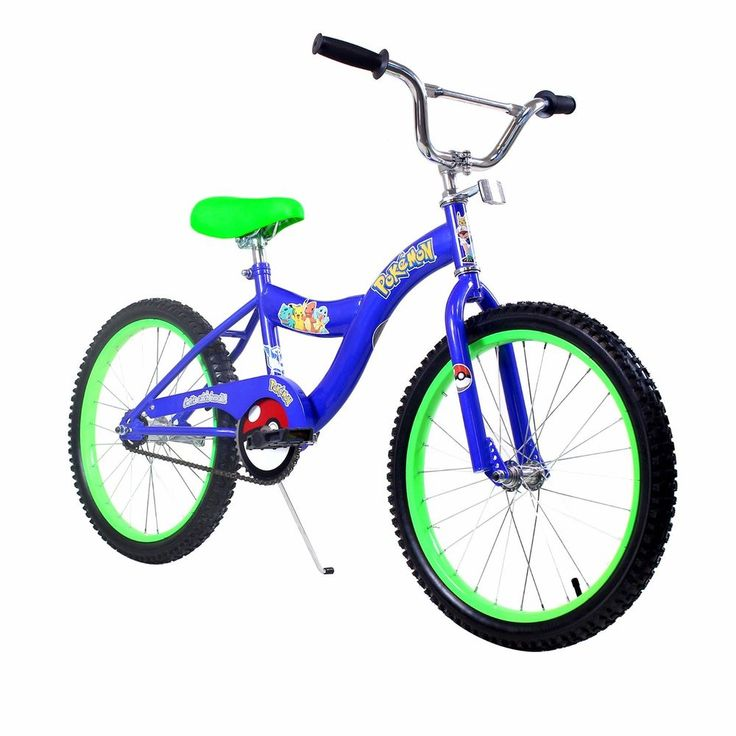 Pokemon bicycle boys kids bike blue 20 inch tires  #zfbikes