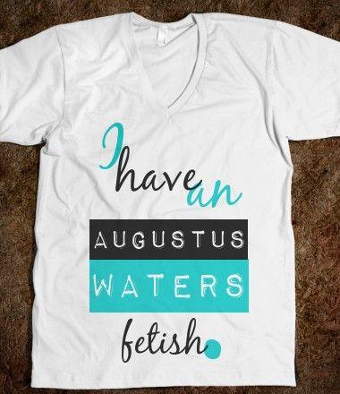 Augustus Waters fetish