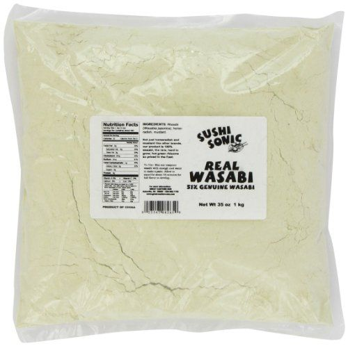 Sushi Sonic Wasabi Blend 51 Wasabi with Horseradish and Mustard 35Ounce Bag ** Want to know more, click on the image.Note:It is affiliate link to Amazon.