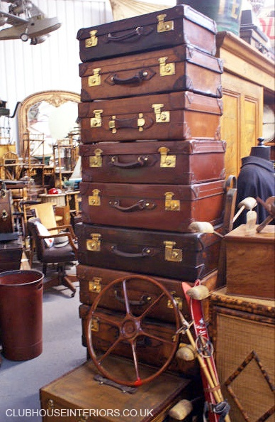 Great genuine vintage leather cases.