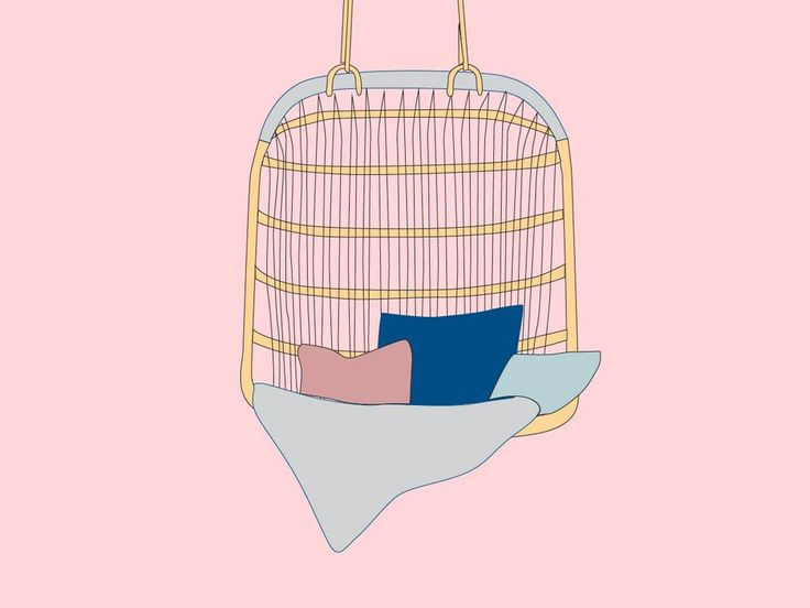 how to fix hanging chair to ceiling