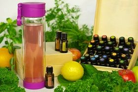 Glasstic is the best water bottle for essential oil and infused water. Strawberry, Grape, and Cucumber Juice - Glasstic Blog