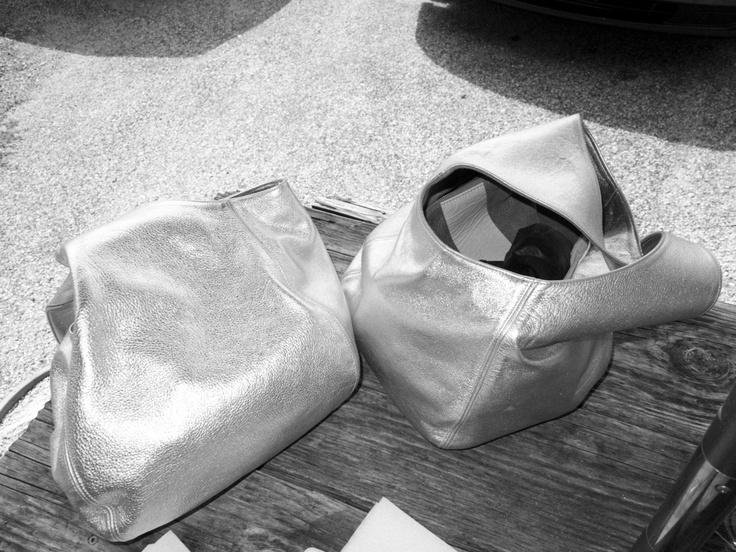 2 silver bandos: Aw Inspiration, Silver Bando, Vivier Bags, Clare Vivier
