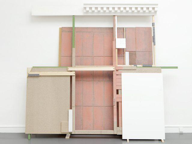 Jacqueline Kennedy Onassis by Jan De Cock - Architecture meets Art!