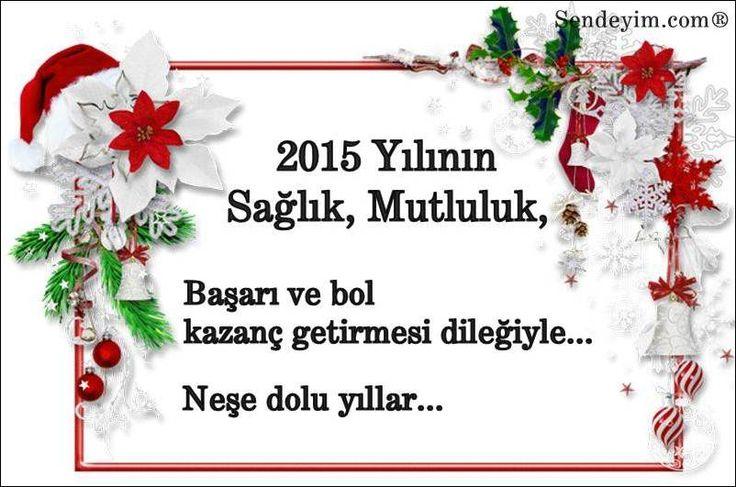 Yeni Yıl Mesajları | Sevgiliye Yeni Yıl Mesajları 2015 | Yılbaşı
