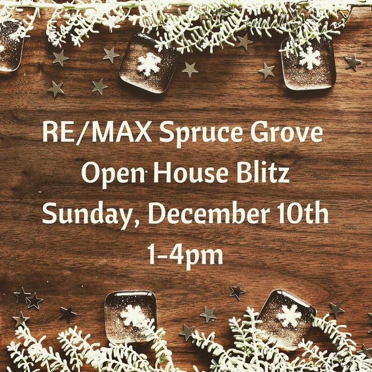RE/MAX Spruce Grove holds an Open House Blitz every month. The December open houses are happening today. Don't miss out! Addresses are on the Spruce Grove RE/MAX blog.  #remaxsprucegrove #openhouse #openhouseblitz #sprucegrove #stonyplain #parklandcounty #triarea