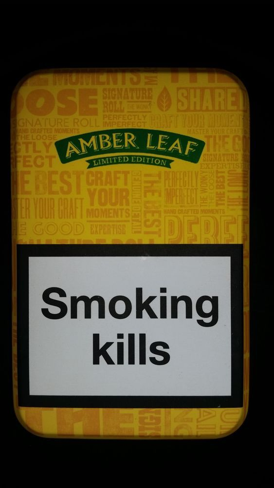 NEW AMBER LEAF TOBACCO TIN *LIMITED EDITION*  Only £6.50 Free UK Delivery