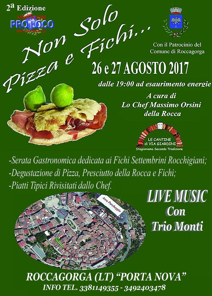 Non Solo Pizza e Fichi (26 Agosto 2017)