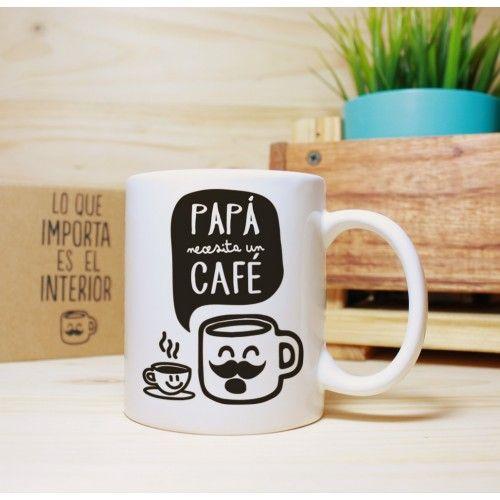 Taza Papá café