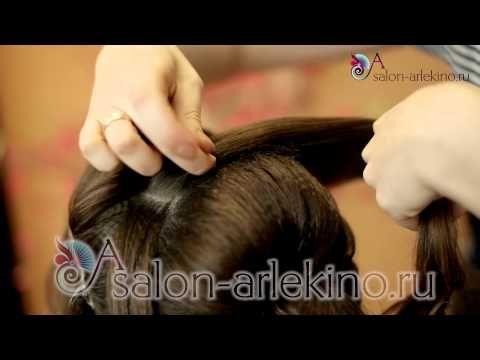 Причёски(+макияж)для выпускного вечера№1