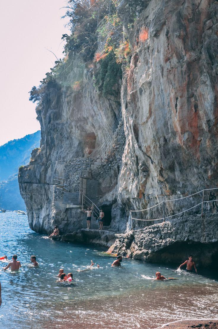Positano Beach, Amalfi Coast Italy
