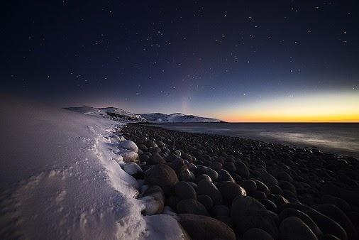 Побережье Баренцева моря, Кольский полуостров. Автор фото: Люба Трифонова