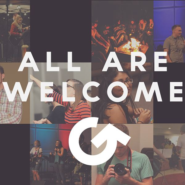 ALL ARE WELCOME - theGathering on Behance