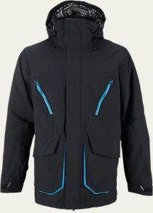 Breach Snowboard Jacket $164.96 Warmth: Light [10,000mm, 10,000g] Color: True Black