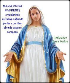 """Acesse a oração """"Maria Passa na Frente"""" completa."""