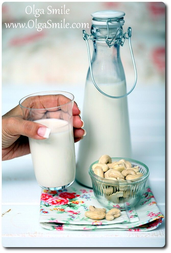 Mleko z nerkowców Olgi Smile