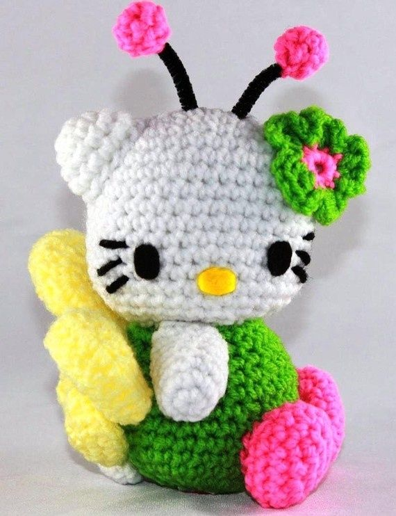 Hello Kitty Doll Bright Fairy Crocheted by DesignUP