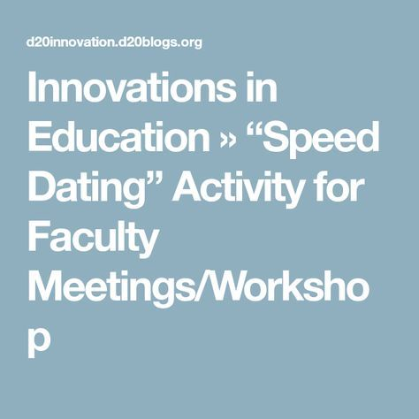 speed dating typical questions Whether you're new to speed dating or a recurring visitor at local speed dating events, there's one thing everyone knows: you have very little time to meet a potential suitor so how can you.