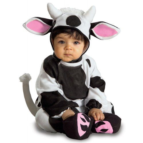 Kostüm Kuh Kuhkostüm Baby Babykostüm Tierkostüm Overall, Fasching, Karneval, Kind