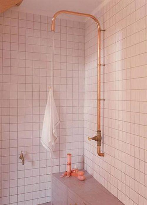 De mooiste roze badkamers | HOMEASE