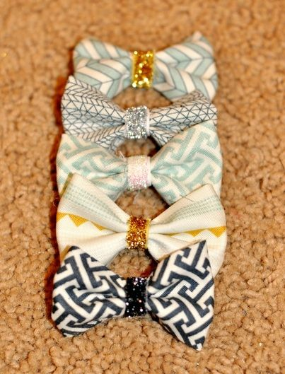 DIY cutest hair bows! - My Mom Taught Me To Play With My Food