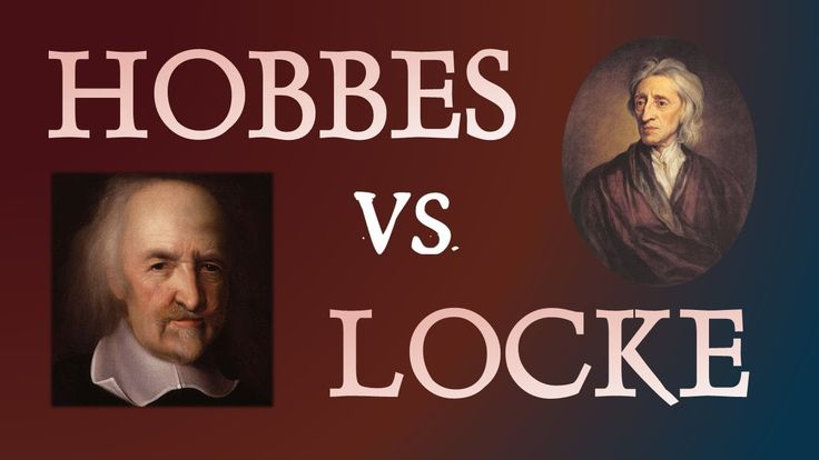 Thomas Hobbes and John Locke:  Two Philosophers Compared