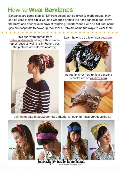 Best 25 how to wear bandana ideas on pinterest ways to wear stand shine magazine how to wear bandanas urmus Choice Image