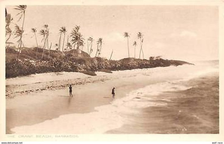 Barbados, The Crane Beach - Postcards