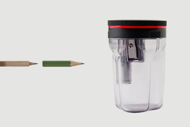 Tsunago, il temperamatite giapponese che permette di riciclare i mozziconi