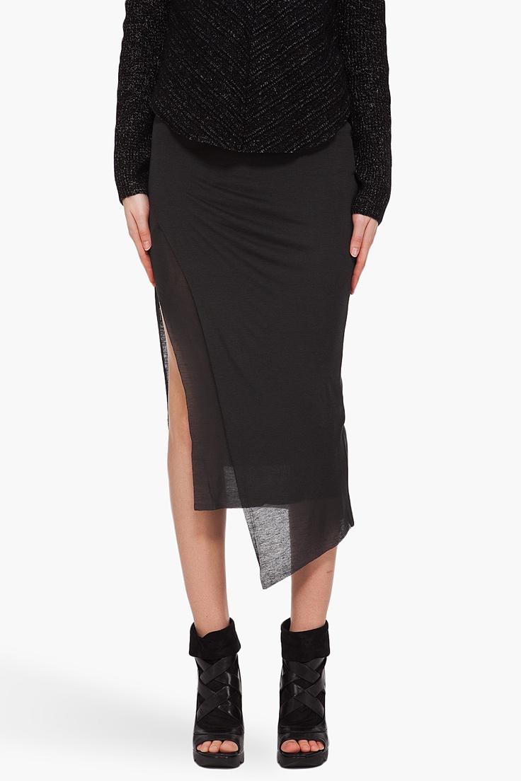 helmut lang skirt