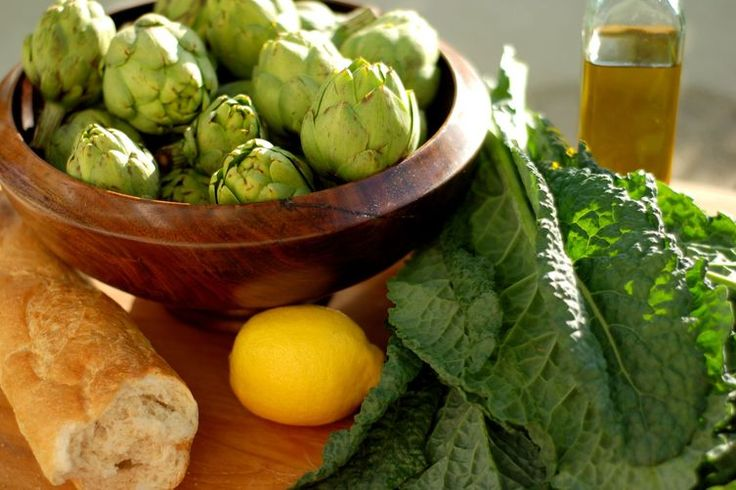 Baby Artichoke & Dinosaur Kale Panzanella recipe on Food52