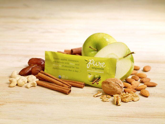 Pure, Organic Bars — The Dieline