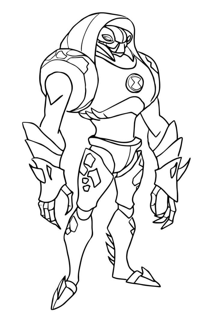 ben 10 coloring pages for students (com imagens)  ben 10