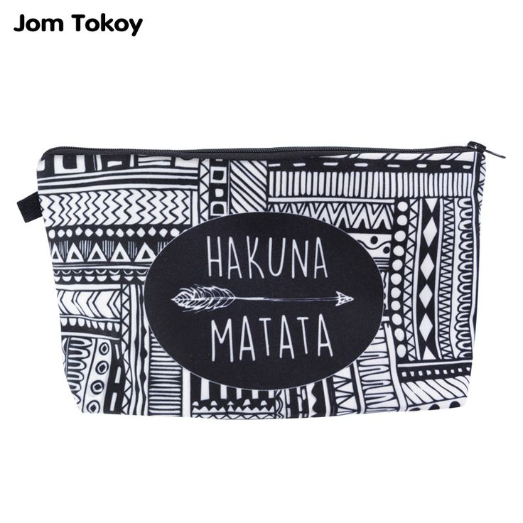 Like and Share if you want this  Hakuna Matata Aztec Pouch for Men and Women     Tag a friend who would love this!     FREE Shipping Worldwide | Brunei's largest e-commerce site.    Buy one here---> https://mybruneistore.com/jom-tokoy-fashion-brand-cosmetic-bags-2016-new-fashion-3d-printing-women-travel-makeup-case/