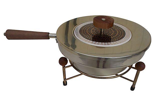 Midcentury Chafing Dish on OneKingsLane.com