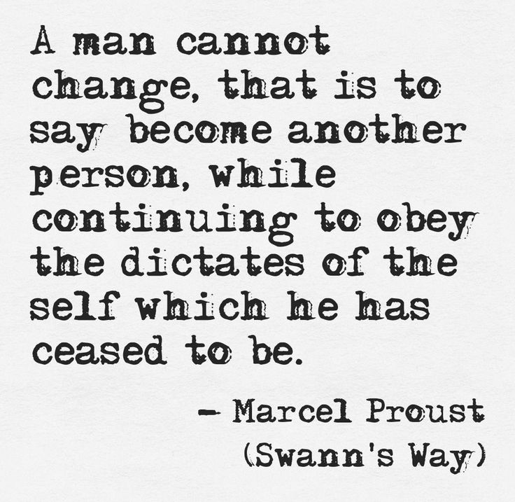 Swann's Way - Marcel Proust.   Player. He says his head is not right but does nothing to make it better.
