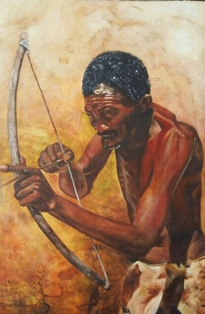 Bushman by Manon Bakkerus