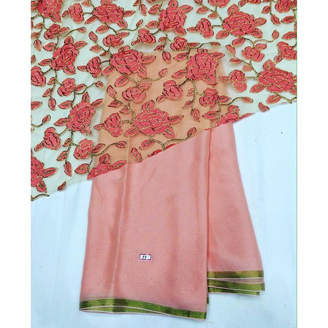 """Peachy peach chiffon saree with dark peach contrast blouse To purchase mail us at houseof2@live.com or whatsapp us on +919833411702 for further detail #sari #saree #sarees #sareeday #sareelove #sequin #silver #traditional #ThePhotoDiary #traditionalwear #india #indian #instagood #indianwear #indooutfits #lacenet #fashion #fashion #fashionblogger #print #houseof2"" Photo taken by @house_of_2 on Instagram, pinned via the InstaPin iOS App! http://www.instapinapp.com (11/21/2015)"