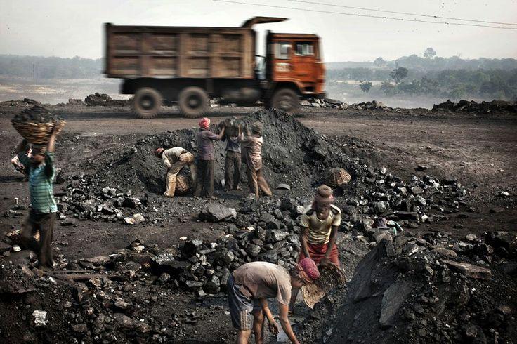 Όταν ο άνθρακας είναι άνθρακας και ο θησαυρός ανύπαρκτος. Jharkhand Ινδία.