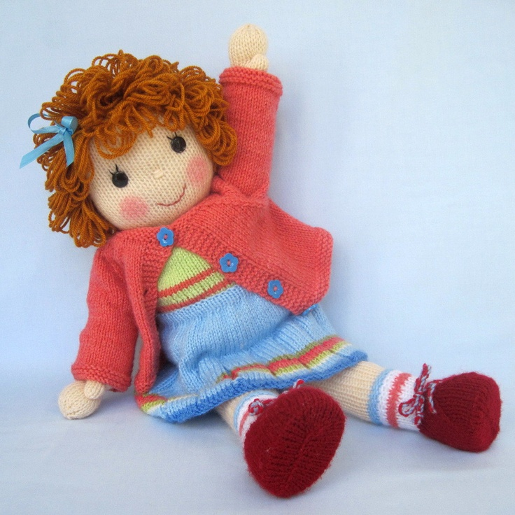 55 Best Dolly Time Images On Pinterest Knitted Dolls Knitting
