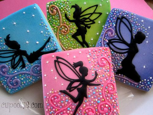 Magical Fairy Cookies by Cupookie --- seriously gorgeous